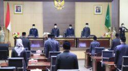 Paripurna Pemandangan Umum Fraksi DPRD Muba Atas LKPD dan 5 Perda Kab. Muba